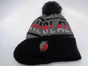 8912239822a Portland Trail Blazers Mitchell   Ness NBA Cuffed Knit Hat Cap Toque ...