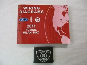 2011 FORD    FUSION    MERCURY    MILAN    LINCOLN    MKZ    WIRING    DIAGRAMS    SERVICE MANUAL   eBay