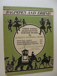 Cornemuses Et Tambours 1939 Par Garnet Parker Erwin-afficher Le Titre D'origine ModéLisation Durable