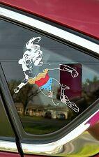 6 inch WONDER WOMAN car/truck/suv decal sticker. bumper sticker