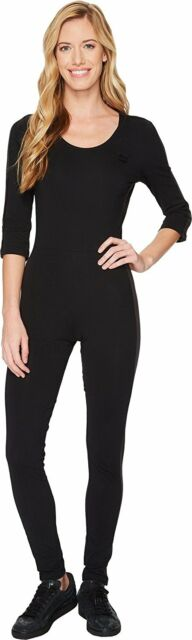 abafe7a5b21d PUMA Black T7 Velour Jumpsuit