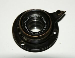 VERY-EARLY-VERY-RARE-CARL-ZEISS-JENA-TESSAR-4cm-f-3-5-35mm-Film-Movie-Cine-Lens