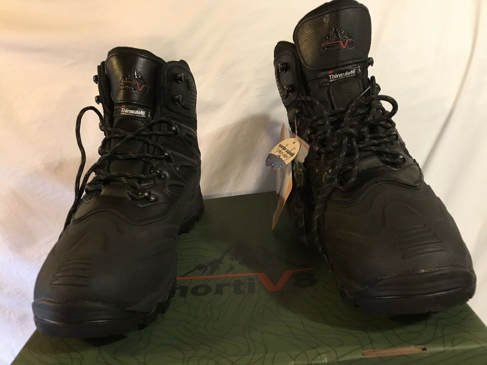 NIB Norti V 8 Men's Thinsulate Water Resistance Boots Size 13