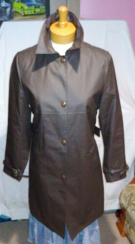 MIU MIU Women's Rain Trench Coat Jacket Size 42 De
