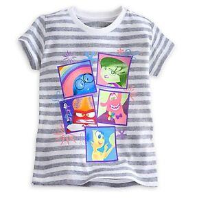 "Disney Store Girls Captain America /""Love/"" T Shirt Tee Size 5//6 7//8 10//12 14"