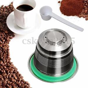 edelstahl kaffee kapsel wiederbef llbar l ffel f r nespresso kapselmaschine ebay. Black Bedroom Furniture Sets. Home Design Ideas