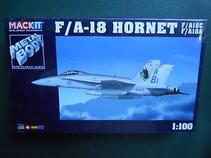 Armour-Franklin-como-nuevo-mackit-kit-metal-1-100-avion-f-a-18-Hornet-MIB