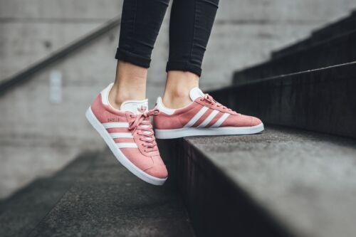 Shoes Women Gold 5 Pink 121031932914 Cq2186 Gazelle Trainer White 8 Originals Sneakers Adidas wqaX8fw
