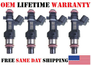 Set//4 Genuine OEM Jecs Fuel Injectors for 2015-2016-2017 Nissan Altima 2.5L I4