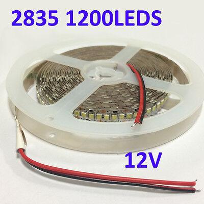 High Brightness 1200LEDS SMD 2835 LED Flexible Strip Light Non-Waterproof 12V