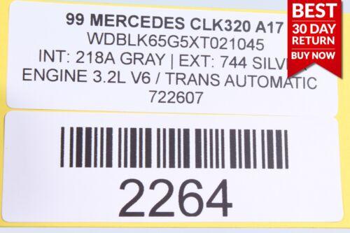 98-02 MERCEDES W208 CLK320 ENGINE COOLING RADIATOR OEM