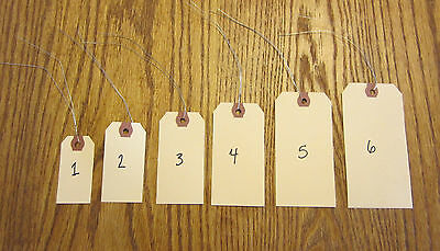 75  AVERY MANILLA BLANK SHIPPING HANG TAGS SCRAPBOOK GIFT INVENTORY PAPER LABEL