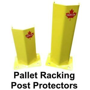 Pallet Racking Post Protector, End of Aisle Guards, Guard Rails and more! We sell warehouse equipment. Mississauga / Peel Region Toronto (GTA) Preview