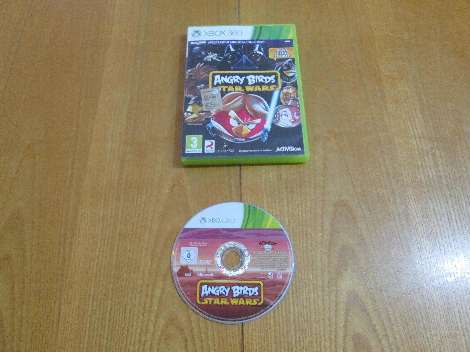 XBOX 360 - ANGRY BIRDS STAR WARS - Completo e - jeu StarWars