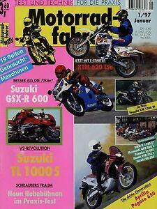 Motorradfahrer-1997-1-97-Chang-Jiang-KTM-LC-4-LSe-XJR1200SP-XT350-Pegaso-TL1000S