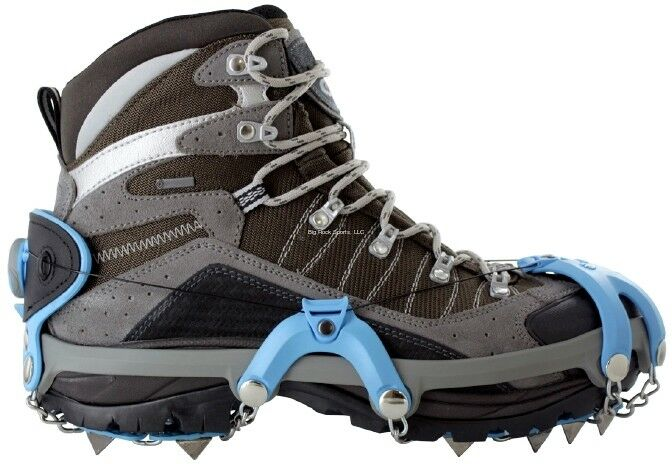 nouveau Yaktrax Summit Taille W 10.5-12, M 9-11 Ice Fishing Creepers Cleats 08441