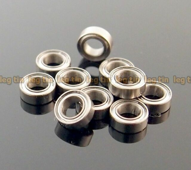 [10 pcs] MR74ZZ  4*7*2.5  4x7x2.5mm Metal Shielded Ball Bearing Bearings