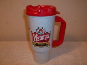 Vtg McDonalds Whirley travel Coffee Cup Mug Plastic w// Lid /& Holder