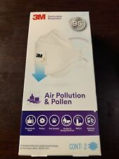 3m Air Pollution Amp Pollen Particle Respirator 2 Count