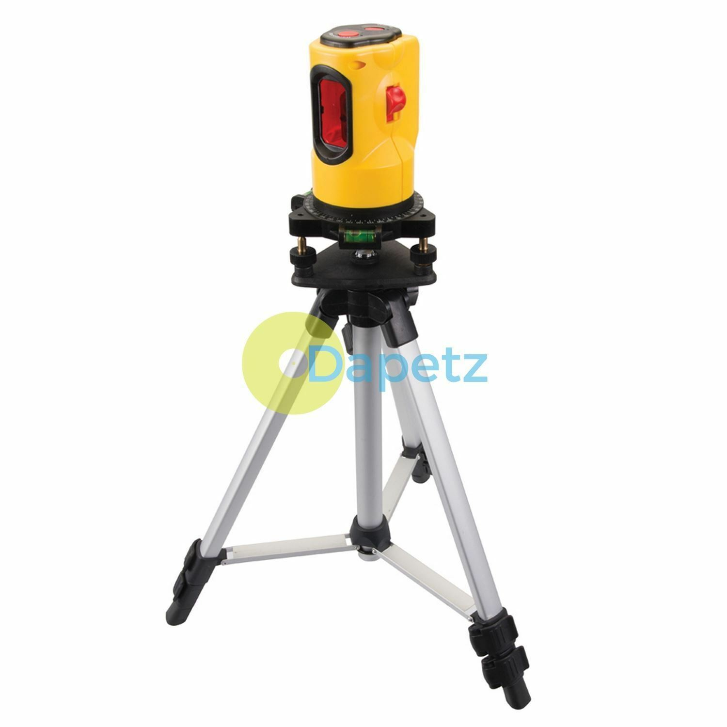Self Levelling Laser Level Kit 10M Range rotates 360° Grünically horizontally