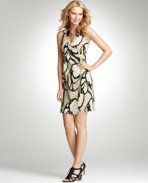 Ann Taylor Modern Muse Print Dress  Org. New With Tag (IN)