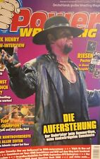 Power Wrestling Magazin 09/2008 WWE WWF + 4 Poster (Kofi, Punk, Unforgiven)