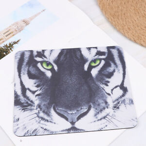 1PC tiger picture mouse pad mat soft rubber anti-slip mousepad for PC laptop_HQ