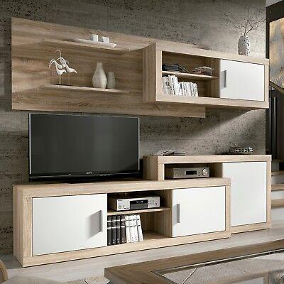 Mueble de comedor, salon moderno, conjunto comedor salon modulo Tv, Opalo
