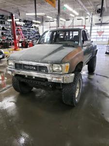 1993 Toyota Pickup 4x4 3.4L Swap