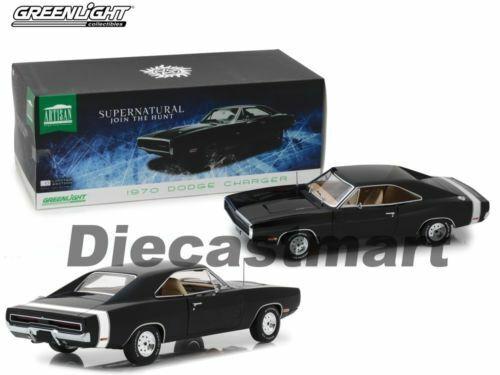 oferta especial 1 1 1 18 verdeLight gl19046 1970 Dodge Charger súpernatural negro  la calidad primero los consumidores primero