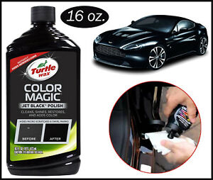 Turtle Wax T-374KTR Color Magic Car Polish, Black - 16 oz. Hot product