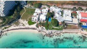 Venta casa frente mar zona hotelera Cancún