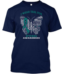 I-Wear-Teal-For-Ptsd-Awareness-Strength-Fight-Hero-Hanes-Tagless-Tee-T-Shirt