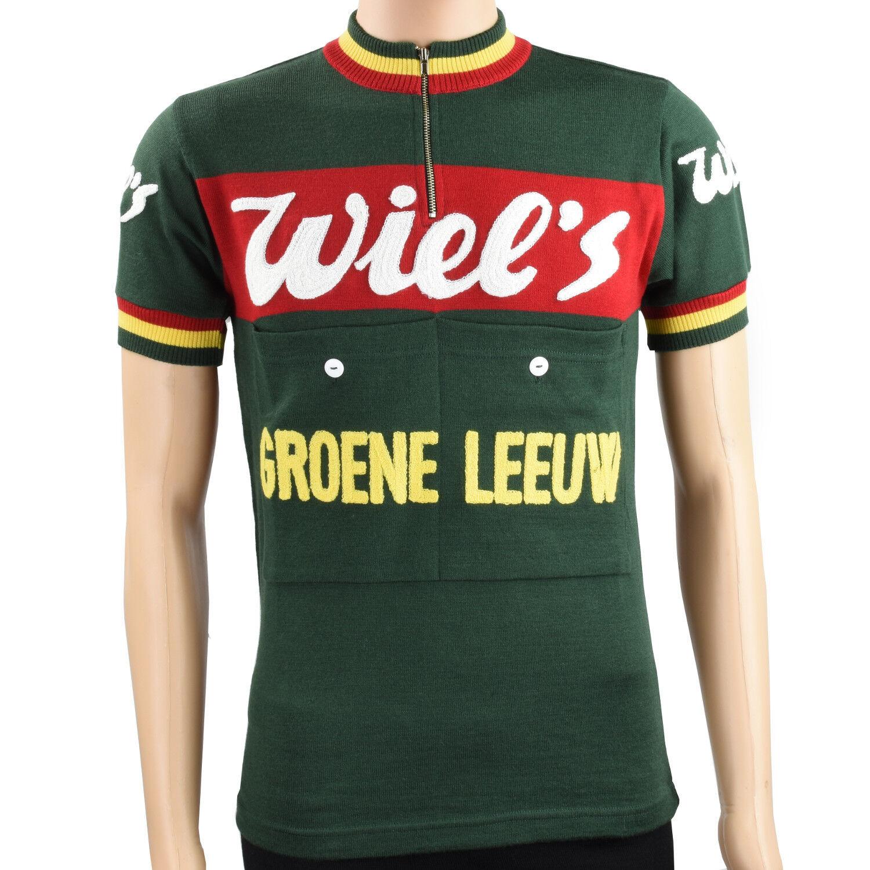 Wiel's-Groene Leeuw merino wool jersey - VV Classics