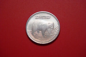 Spectacled Bear 2012 Colombia 50 pesos animal wildlife coin