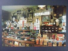 South Sudbury Mass Wayside Country Store Penny Candy Counter Postcard 1950s Vtg