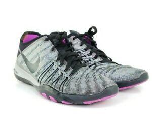 Nike Free TR6 Size 6.5 Black Metallic