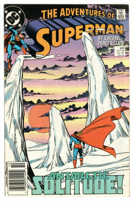 THE ADVENTURES OF SUPERMAN - #459 NEWSSTAND EDITION -  DC COMICS