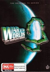 WAR-OF-THE-WORLDS-The-Complete-Series-DVD-2011-11-Disc-Set-NEW