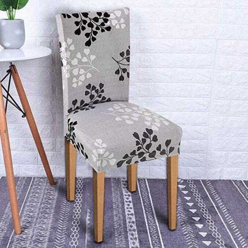 Vintage Elastische Einfarige Stuhl Hocker Stretch Stuhlhussen Stuhlbezug