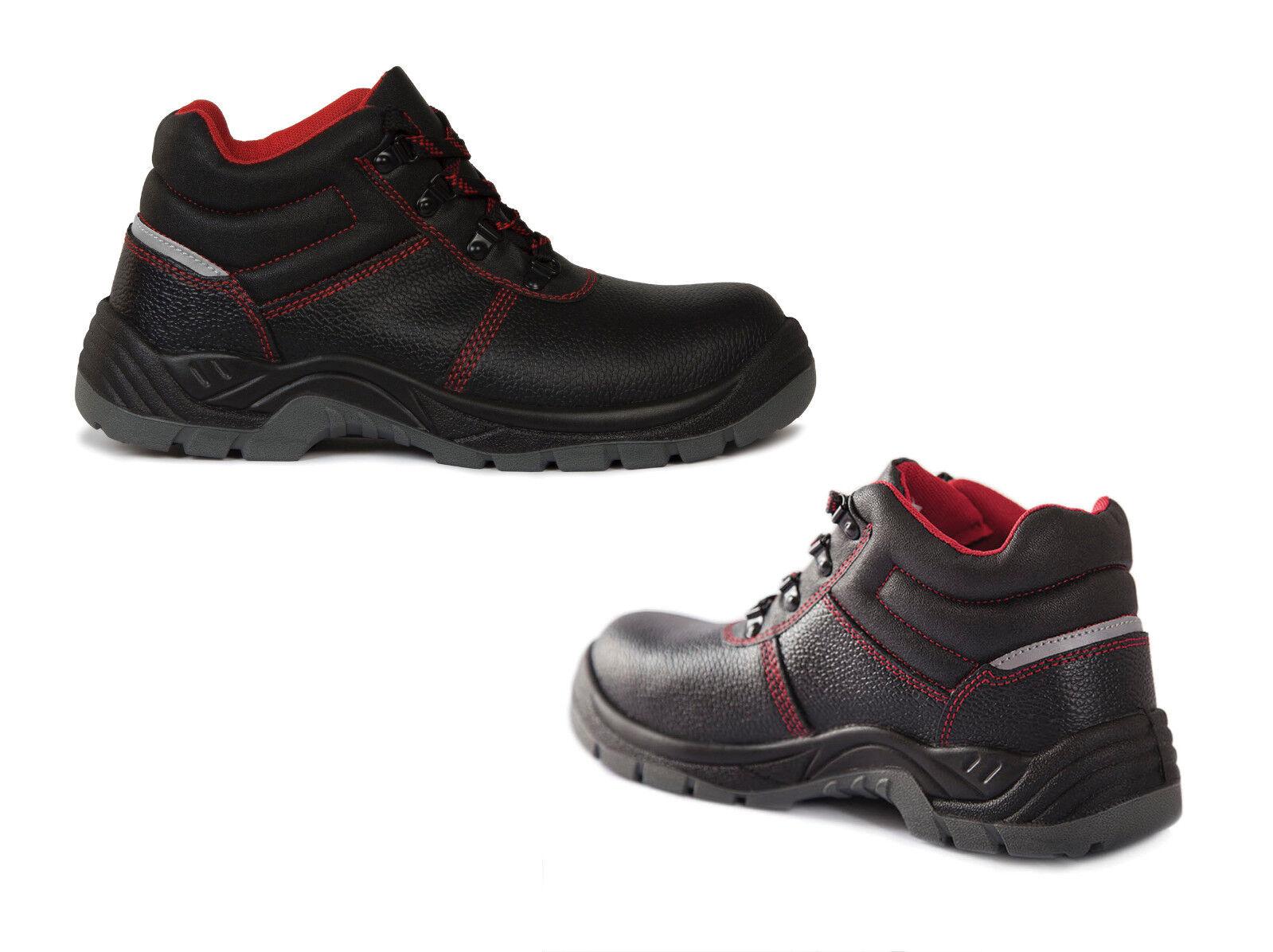 QUALITEX S3 Sicherheitsschuhe Arbeitsschuhe Schuhe Halbschuhe Bau 36-48 NEU