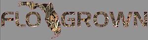 """FLO GROWN Tree Camouflage Premium Die-Cut Vinyl Decal Sticker 18/"""" Camo Gator"""