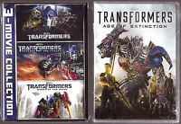 Transformers 1, 2, 3 & 4 - Dvd Film Collection Brand