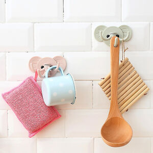 Holder-Wall-Shelf-Rack-Hook-Home-Storage-Organizer-Bathroom-Kitchen-Accessories