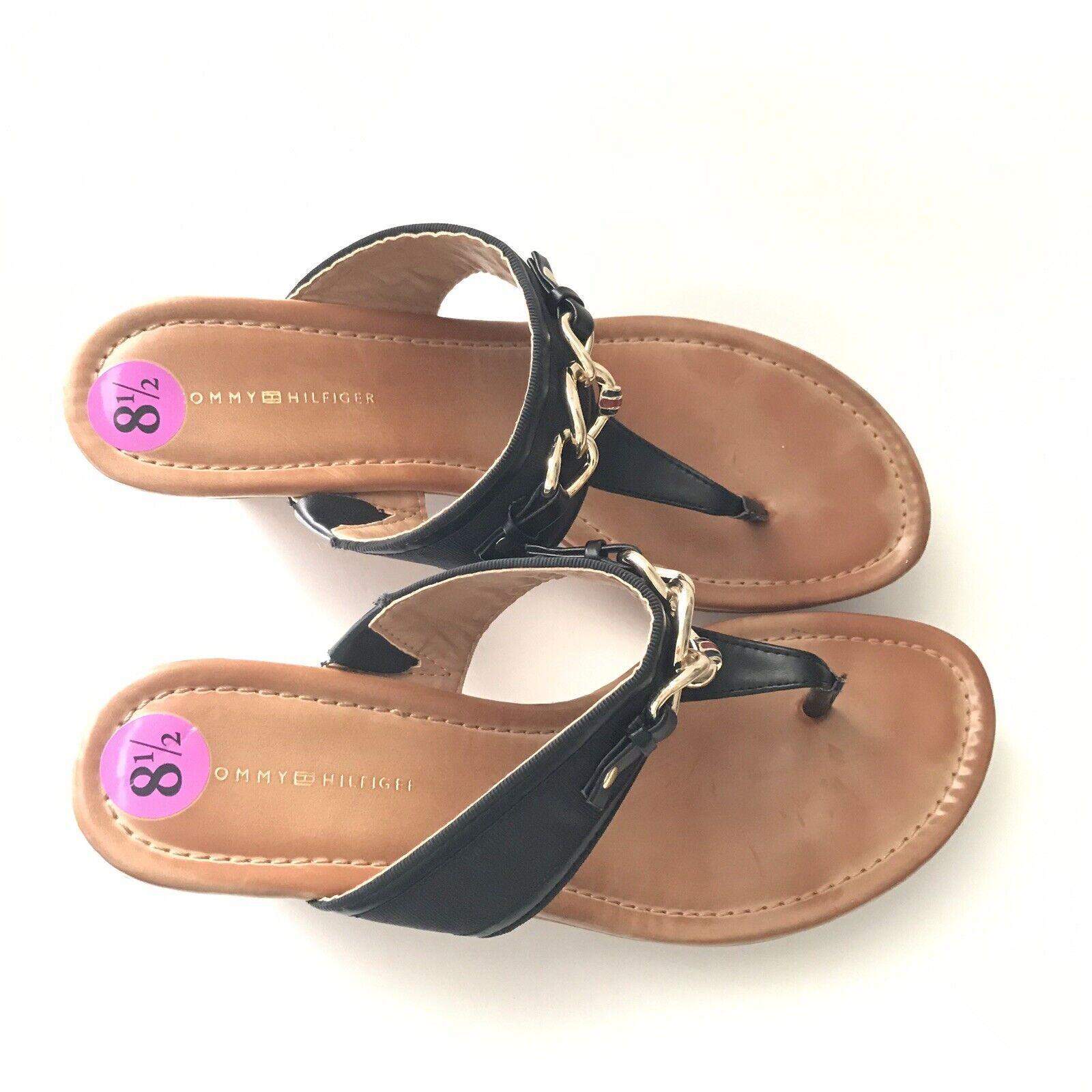 tommy hilfiger Womens Sandal Size 8.5M Melane Tho… - image 3