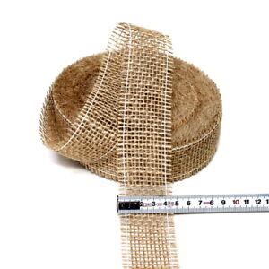 Juteband-natur-weich-40mm-breit-25-Meter-Jute-Nice-Price