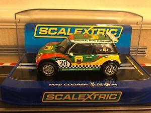 Scalextric Mini Cooper S numérique Arden Racing, No20 C3216, état neuf, en boîte 5010963532161