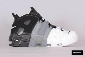 Nike Air More Uptempo Retro Tri Color Size 10. 921948-002 Jordan Pippen Kobe