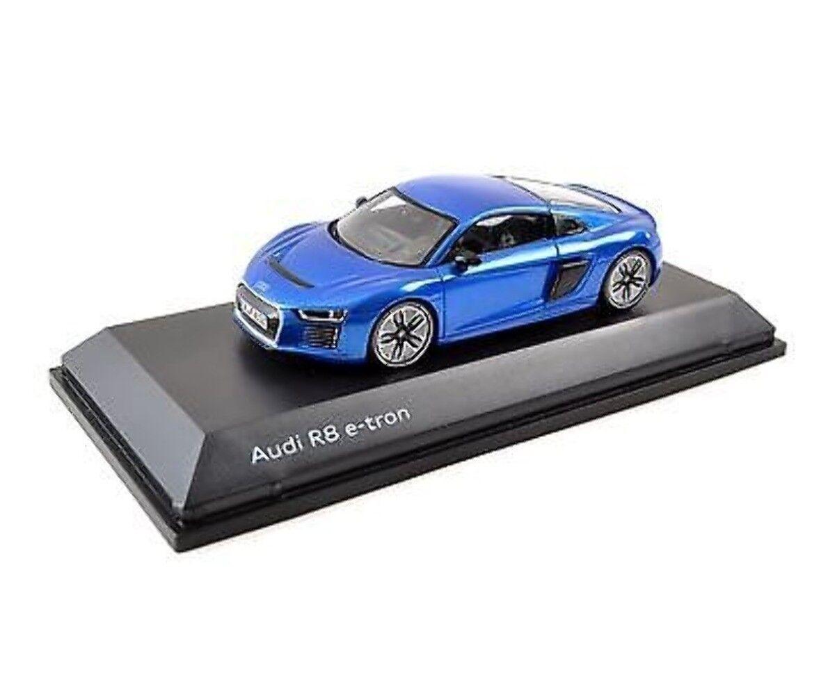buena calidad AUDI R8 e-tron, 1 43, 5011618431 Azul Azul Azul Magnético  al precio mas bajo