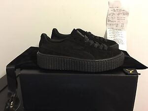 puma creepers all black